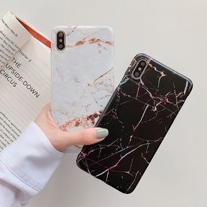 NEW iPhone Max/XR/X/XS/7/8/Plus Marble case